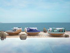Unusual patio style ideas with unique materials - Decoration Design Garden Furniture, Furniture Design, Outdoor Furniture, Outdoor Sofa, Outdoor Living, Outdoor Decor, Outdoor Patios, Outdoor Ideas, Ibiza