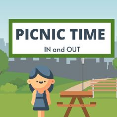 Boom Cards - Picnic Time: In and Out In & Out, Picnic Time, Speech Therapy, Special Education, Vocabulary, Deck, Family Guy, Author, Activities