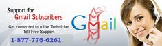 Dial Gmail Support Number 1-877-776-6261 To Get in touch with our Gmail Technical Support Team . Our Gmail support team provides instant Gmail tech support service in USA and Canada.