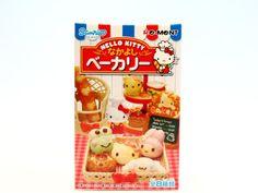 Amazon.co.jp | ハローキティ なかよしベーカリー HELLO KITTY ミニチュア 食玩 リーメント (全8種フルコンプセット) | おもちゃ 通販
