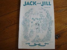 Vintage Jack and Jill the Magazine for Boys & Girls SEPT 1942 Volume 4…