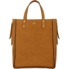 Fontana Milano 1915 Women's Tum Tum Large Tote (14.470 RON) ❤ liked on Polyvore featuring bags, handbags, tote bags, yellow, zipper tote, handbags totes, handbag purse, tote purses and zippered tote bag