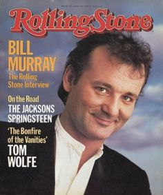 Bill Murray Rolling Stone magazine
