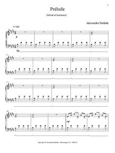 Alexandra Streliski: Prelude sheet music  This is the sheet music for the piano theme from Dallas Buyers Club. Enjoy!