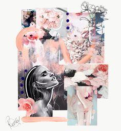 Mood: inspiration mood board fashion, sketchbook inspiration, inspiration w Mode Portfolio Layout, Portfolio Design, Fashion Portfolio, Arte Sketchbook, Fashion Sketchbook, Web Design, Line Design, Media Design, Design Art