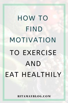 I lost motivation to exercise and eat healthy for a month. In this post, I show you how I found motivation again and how you can too. Finding Motivation, Healthy Lifestyle Motivation, Weight Loss Motivation, Weight Loss Tips, Fitness Motivation, Fitness Goals, Health And Fitness Tips, Health Tips, Health And Wellness
