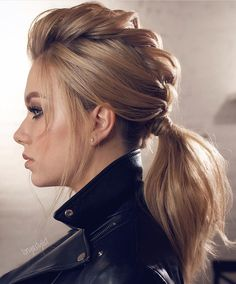 63 Amazing Braid Hairstyles for Party and Holidays ★ Braided Ponytail Ideas fo. - 63 Amazing Braid Hairstyles for Party and Holidays ★ Braided Ponytail Ideas fo. Holiday Hairstyles, Formal Hairstyles, Up Hairstyles, Pretty Hairstyles, Braided Hairstyles, Wedding Hairstyles, Hairstyle Ideas, Party Hairstyles For Long Hair, New Year Hairstyle