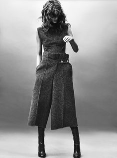 Antonina Petkovic Wears 'A Cutting Softness' Lensed By Emma Tempest For Numero Tokyo October 2015 - 3 Sensual Fashion Editorials | Art Exhibits - Women's Fashion & Lifestyle News From Anne of Carversville