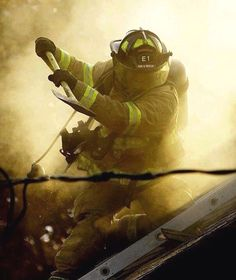 5 Signs You're a Salty Firefighter Do you often find other firefighters staring at you in awe? Are your fire stories the stuff of legends? Firefighter Paramedic, Firefighter Love, Volunteer Firefighter, Fire Dept, Fire Department, Firefighter Pictures, Fire Apparatus, Man Up, Real Hero