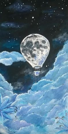 'Moon in the air'