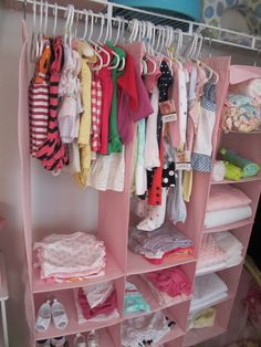 Love these for getting rid of Echo's dressers and having the girls share a room and closet