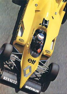 1983 Alain Prost, Equipe Renault ELF, Renault RE40