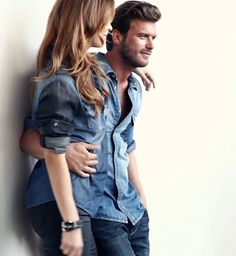 Kıvanç Tatlıtuğ and Barbara Palvin Mavi Jeans Turkey 2013 - 2014 adv. Джинсы Мода легенда. Modada Jeans efsanesi . Jeans Fashion legend.