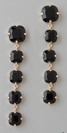 Crystal Drop Earrings...so cute!