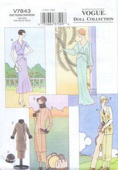 Free Copy of Pattern - Vogue 7843