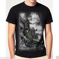 Mens DC Comics The Arrow Ready For Action T-shirt ( New ) AR3