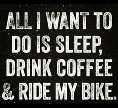 This what a biker wants to do everyday