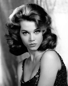 30 Beautiful Black and White Portraits of a Very Young Jane Fonda From Between the Late and Early ~ vintage everyday Vintage Hollywood, Hollywood Glamour, Hollywood Stars, Hollywood Actresses, Actors & Actresses, Elizabeth Montgomery, Jane Seymour, Catherine Deneuve, Marie Christine Barrault