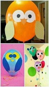 Ideas originales para decorar globos de cumpleaños - Aprendiendo con Julia