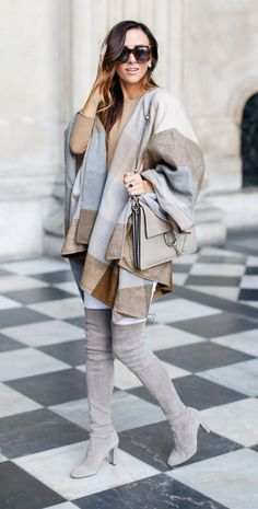 Herbst-Outfit - Falling Fashion Trends für Frauen - New Style . Mode Outfits, Fall Outfits, Casual Outfits, Ladies Outfits, Fashion Outfits, Outfit Zusammenstellen, Look Fashion, Womens Fashion, Ladies Fashion