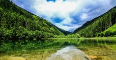 Sascha D. Carinthia, Green Lake, Salzburg, Austria, River, Mountains, Landscape, Photography, Outdoor