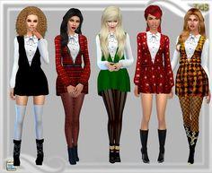 Goning home short dress at Dreaming 4 Sims via Sims 4 Updates