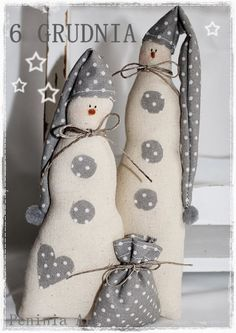 white and grey palette hanging Christmas decorations, sewing crafty Christmas ideas Diy Christmas Angel Ornaments, Christmas Fabric Crafts, Christmas Sewing, Christmas Gnome, Christmas Angels, Christmas Projects, Handmade Christmas, Holiday Crafts, Christmas Decorations
