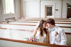 I want a picture taken in the church pew :)