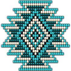 Native Style Turquoise Sunburst