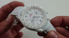 "Omega Speedmaster ""White Side of the Moon"" 311.93.44.51.04.002 Luxury Watch Review - YouTube"