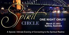 James Van Praagh: Spirit Circle Event in Sydney, Australia...One Night Only! Event Calendar, Sydney Australia, First Night, Spirituality, Van, Spiritual, Vans, Vans Outfit