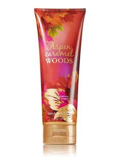 Bath and Body Works :: Aspen Caramel Woods Triple Moisture Body Cream