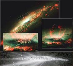 UFOS ONLINE  Hubble fotografa cidade no espaço, seria a Nova Jerusalém?