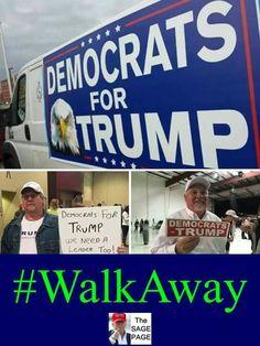 Democrats for Trump Pro Trump, Vote Trump, Trump Wins, Political Memes, Political Views, Liberal Memes, Funny Politics, Alabama, Trump Is My President