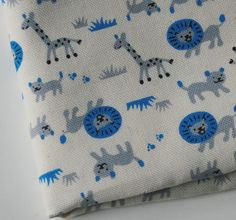 more Japanese giraffe fabric