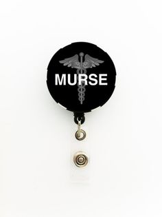 Male Nurse ID Name Badge Holder, Keychain, Necklace, Pin, Magnet, Zipper Pull or Necklace on a Poker Chip; Murse Badge; Medical Badge on Etsy, $7.99