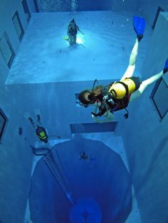 World's Deepest Swimming Pool (Belgium)