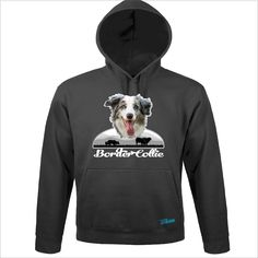 Sweatshirt Hoodie Hunde BORDER COLLIE blue merle Wilsigns Siviwonder bis 3XL
