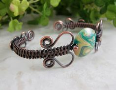images of wire woven jewelry | Wickwire Jewelry: Free Tutorial #3-Woven Wire Bangle