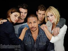 Phoebe Tonkin, Daniel Gillies, Charles Michael Davis, Joseph Morgan, Claire Holt, The Originals