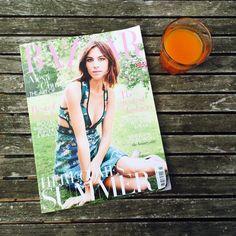 Alexa Chung in Harper's Bazaar Cover - Site de lebazarchocolatchaud !