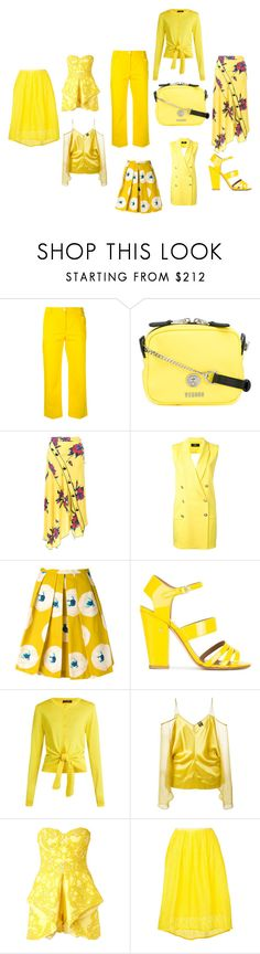 """""""it's a beautiful thing"""" by emmamegan-5678 ❤ liked on Polyvore featuring Blugirl, Versus, Proenza Schouler, Eggs, Laurence Dacade, Dolce&Gabbana, Jean-Paul Gaultier, Mikael D, Estnation and modern"""