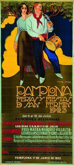 Pamplona, San Fermin 1923