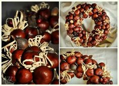 Who plays naughty . Fall Crafts, Holiday Crafts, Diy And Crafts, Holiday Decor, Advent Wreath, Diy Wreath, Autumn Wreaths, Christmas Wreaths, Xmas Decorations