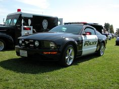 Police sports cars