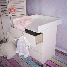 Complementi per fasciatoi - Fasciatoio rialzato per il cassettone IKEA Malm - un prodotto unico di PuckDaddy su DaWanda