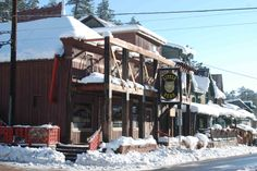 Little Bear. Evergreen, Co.  Awesome little mountain town with amazing pizza at Beaujo's!