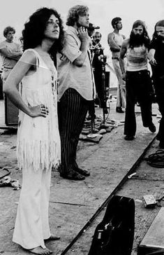 Jefferson Airplane- possibly at woodstock, it looks like the same outfit?