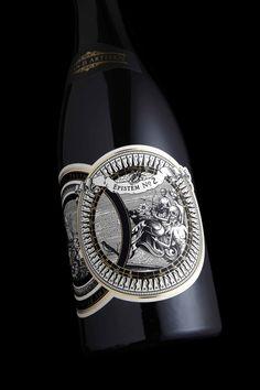 Epistem no.2 wine, featured on The Design ark. Packaging design by Stranger & Stranger