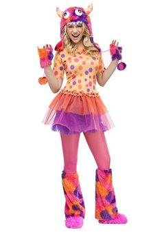 Teen Fuzzy Fifi Monster Halloween Costume